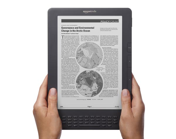 tableta de Amazon Kindle DX 2da Generación