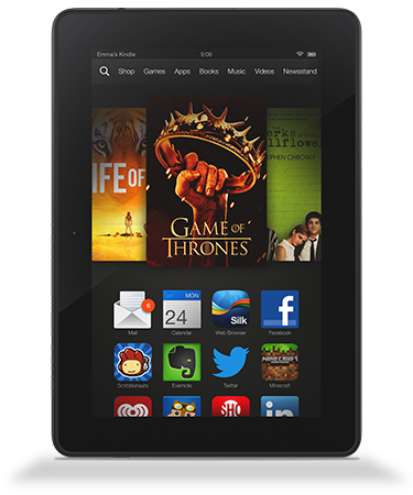 tablet kindle fire hdx 8.9