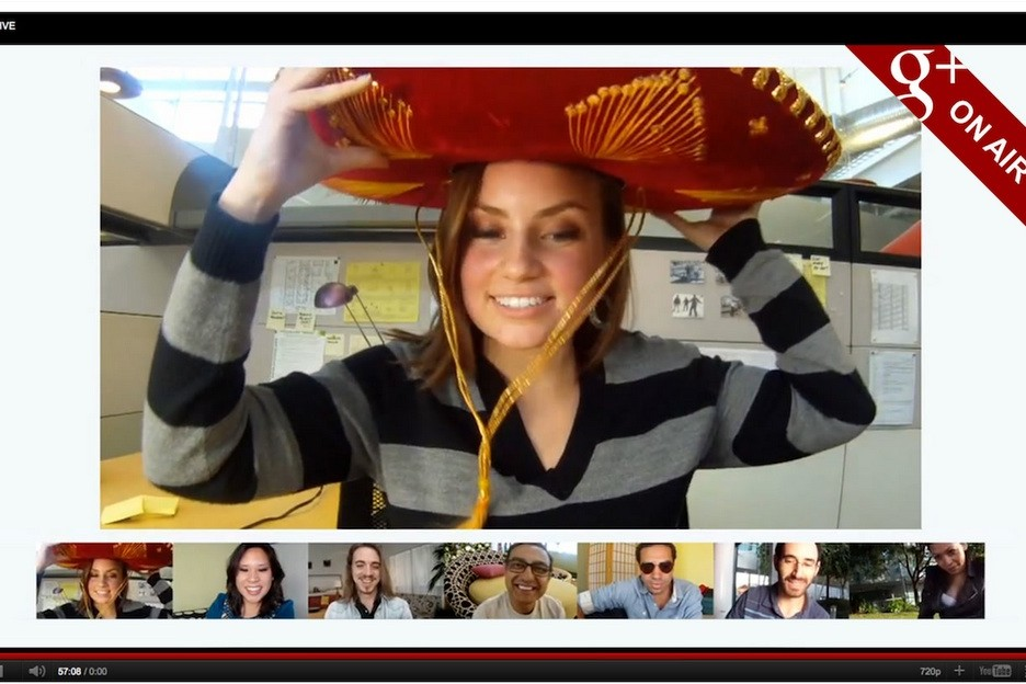 Video Chat Google Hangouts