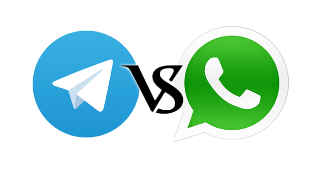 telegram contra whatsapp