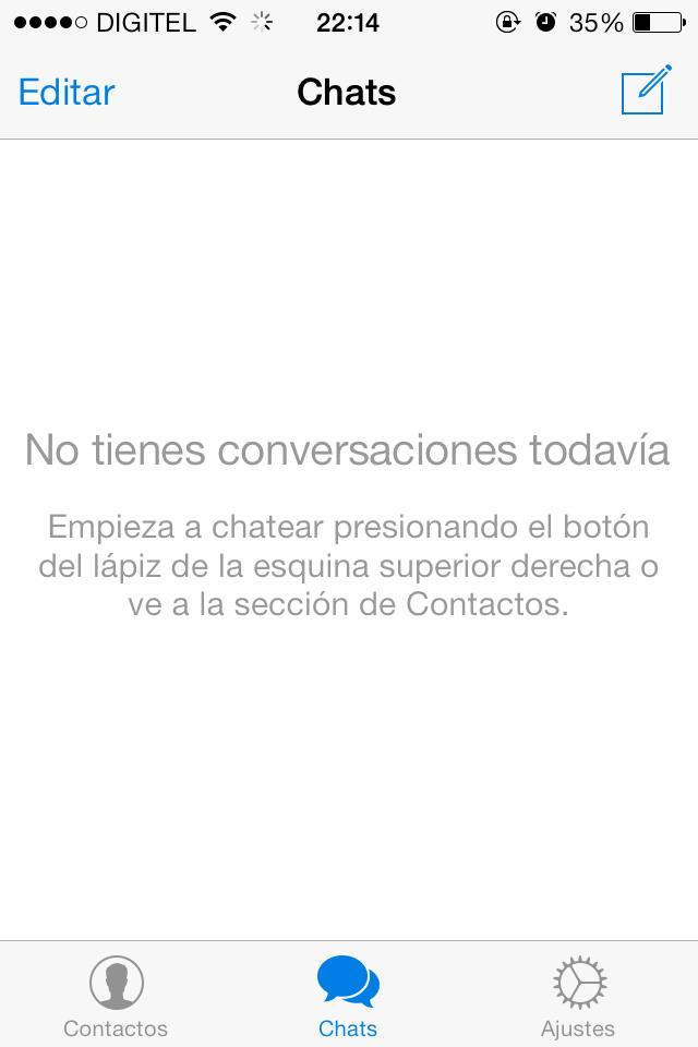 no conversxaciones telegram