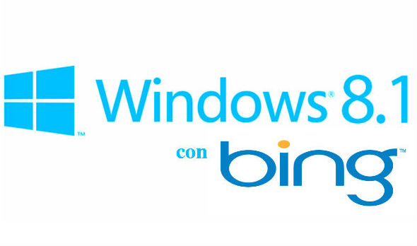 windows 8.1 con bing