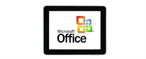 Microsoft office para ipad, iphone