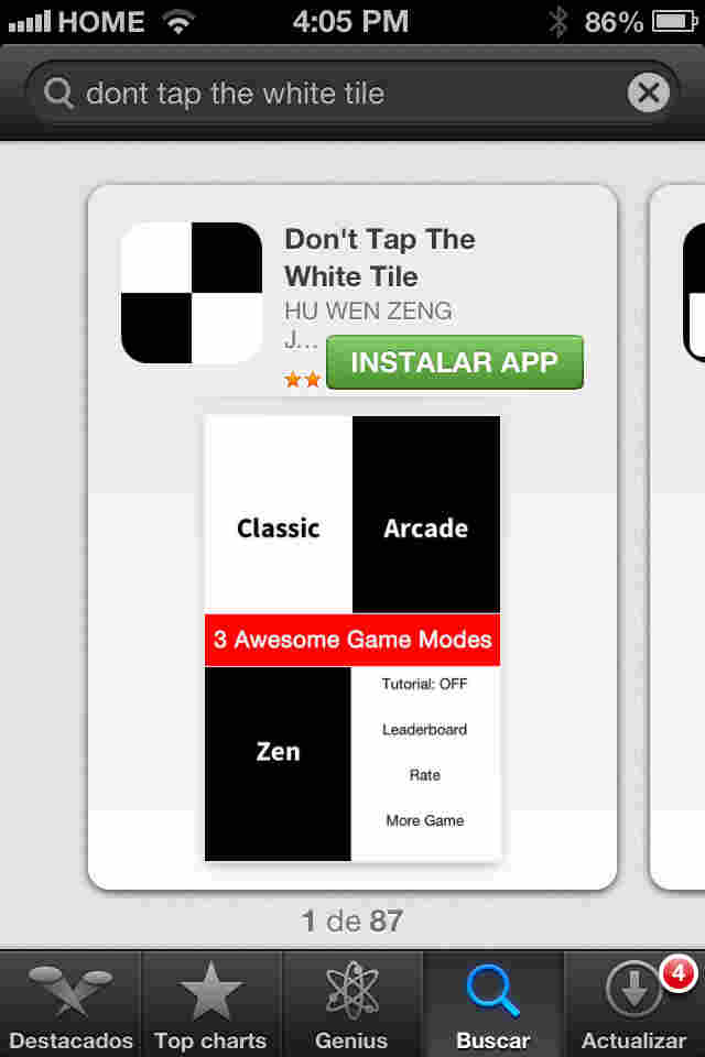 descarga Don't Tap the White Tile