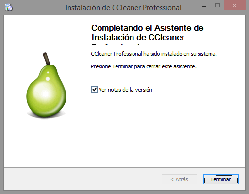 ejecutar ccleaner