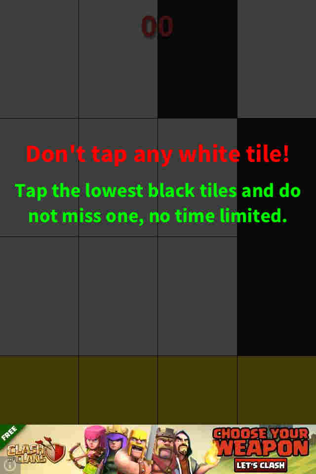 que es Don't Tap the White Tile
