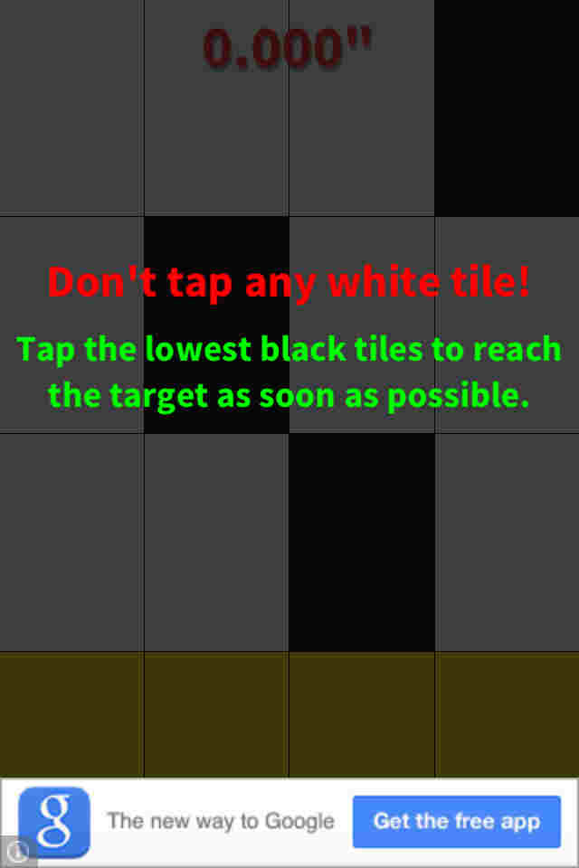 como jugar Don't Tap the White Tile