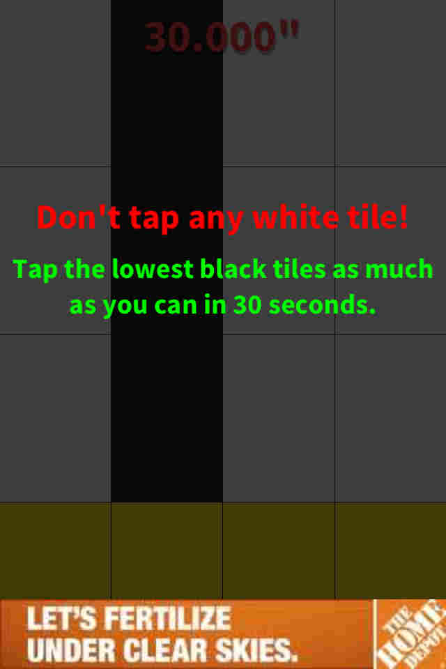 tips Don't Tap the White Tile