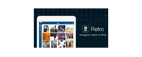 Retro, Instagram en tu iPad