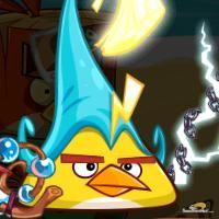 pajaro relampago angry birds epic