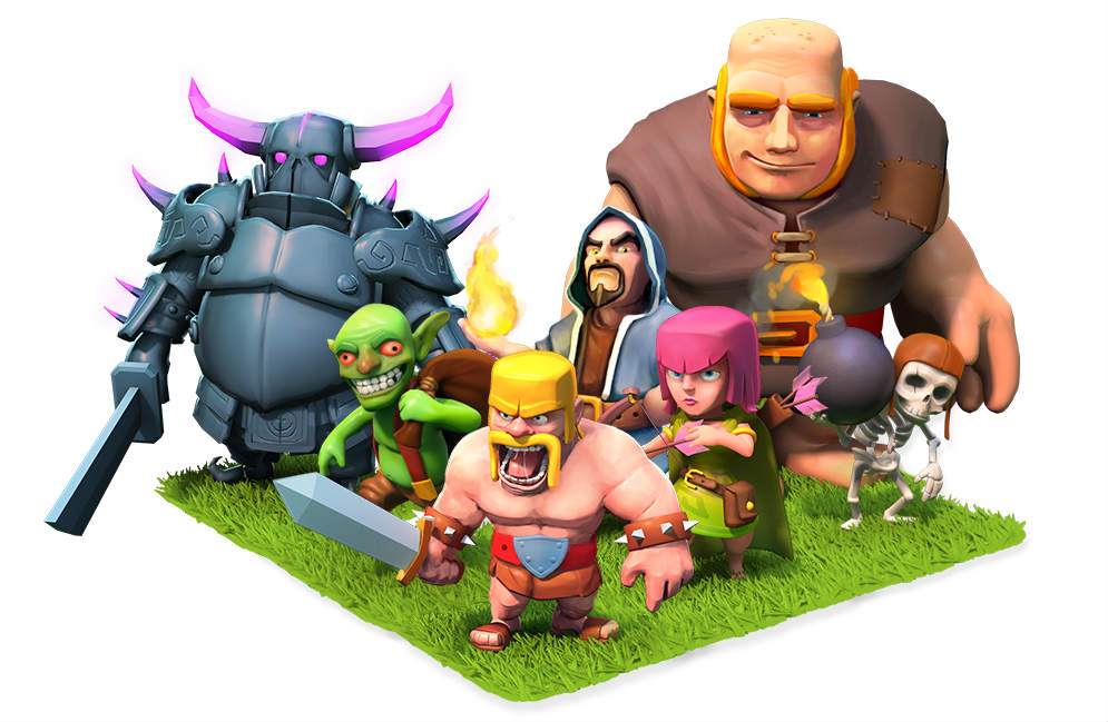 tropas de clash of clans