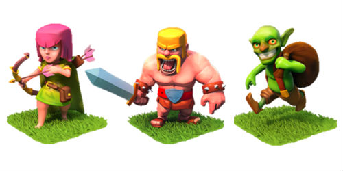 tropas de tier 1 clash of clans
