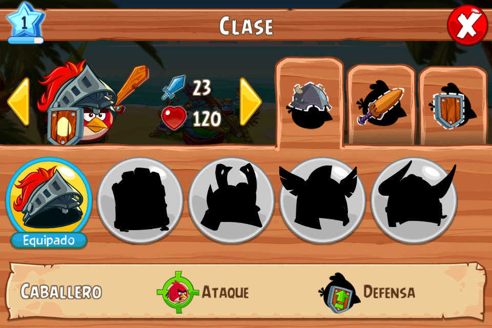 clases angry birds epic