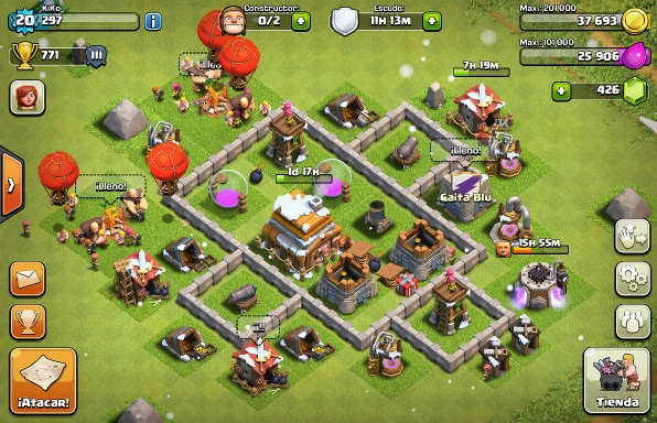 constructores de clash of clans