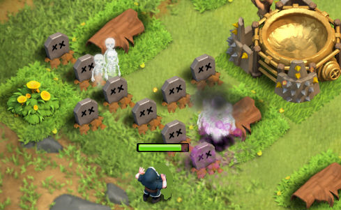 elixir de lapidas clash of clans
