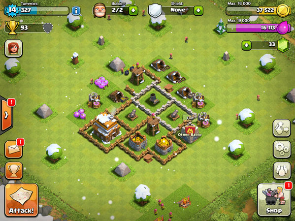 defensa nivel 14 clash of clans