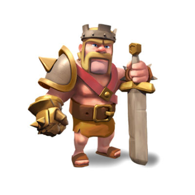 heroe clash of clans