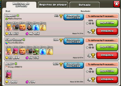 Clash of clans venganza