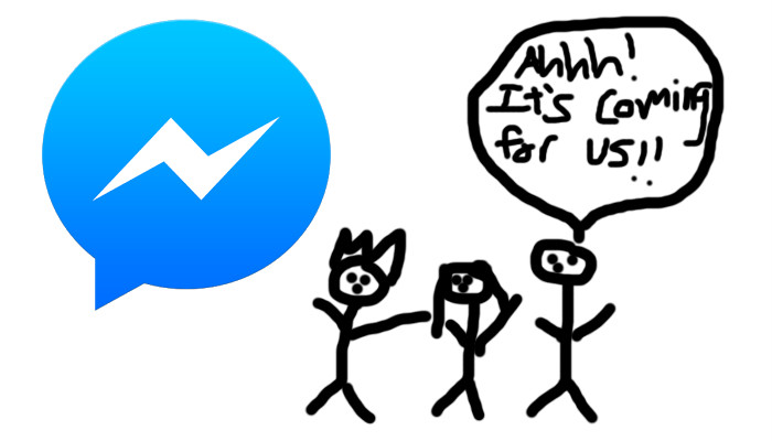 evitar facebook messenger