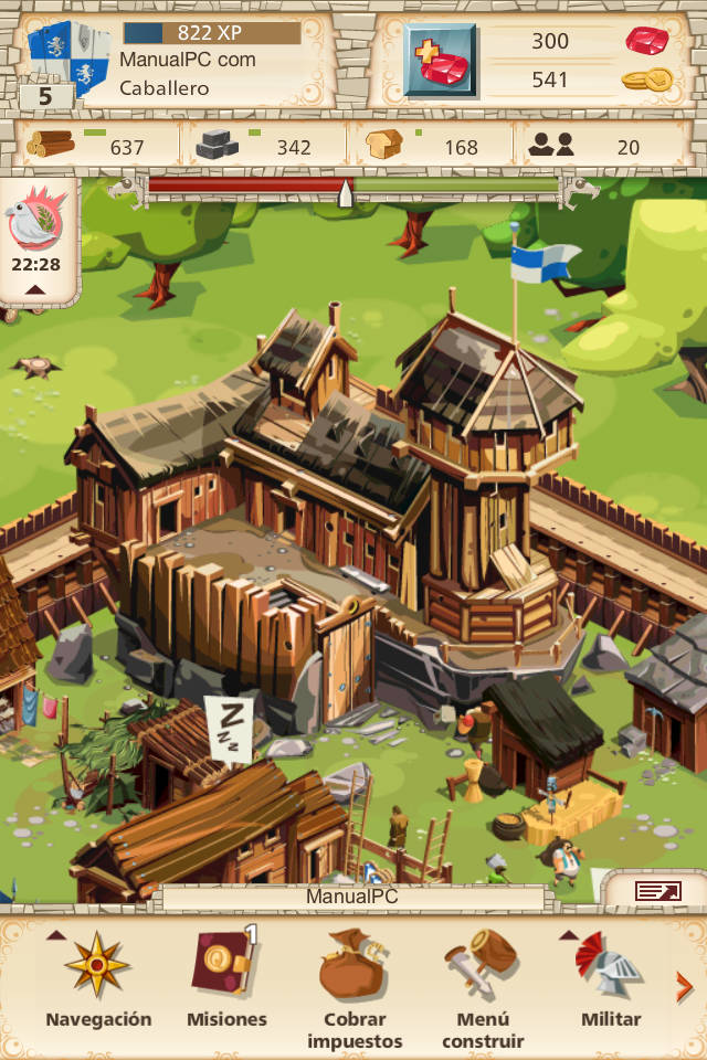 castillo de empire four kingdoms