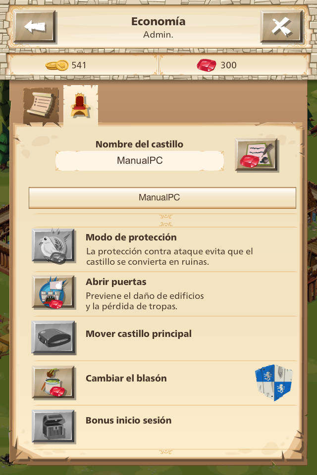 nombre del castillo empire four kingdoms
