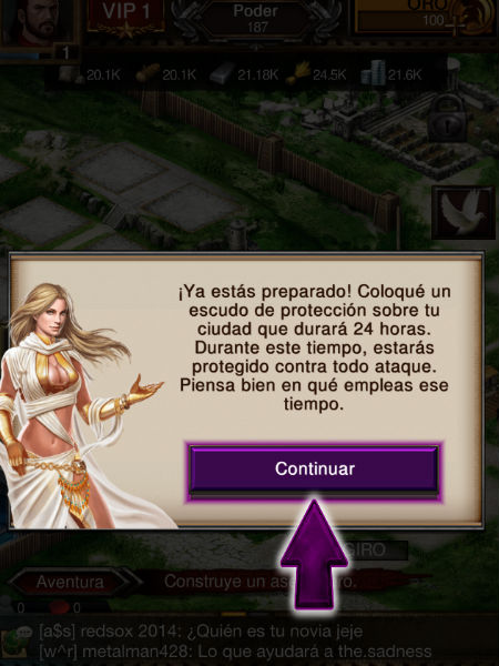 athenas en game of war