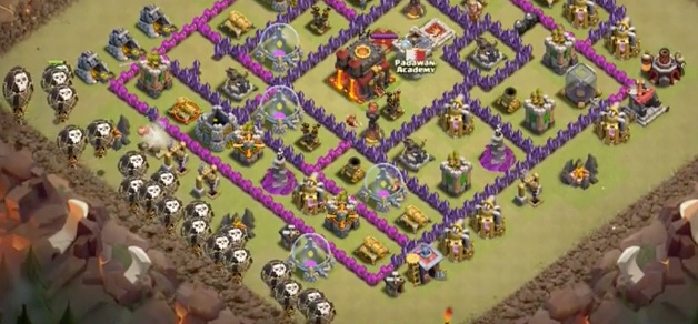 clash of clans mejores tropas hechizo furia