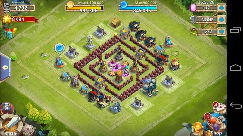 Base ayuntamiento 13 castle clash