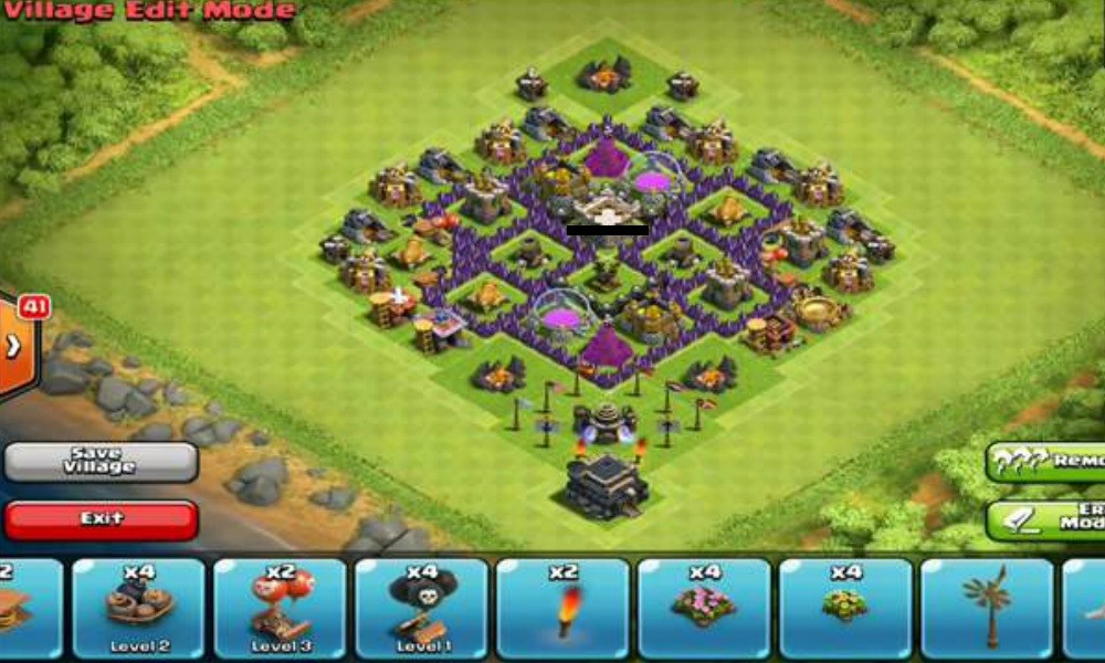 Clash of Clans aldea farming ayuntamiento 6