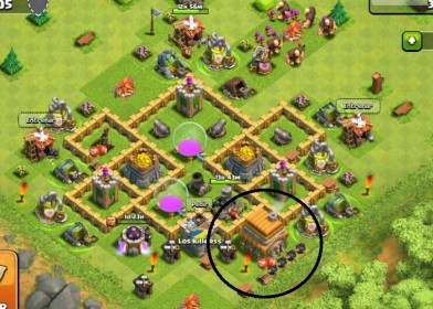 mejor defensa de clash of clans