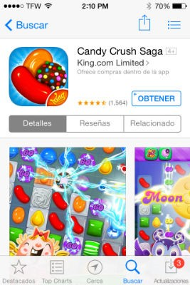 descraga de candy crush saga