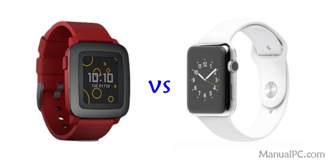 mejor smartwatch apple watch vs pebble time
