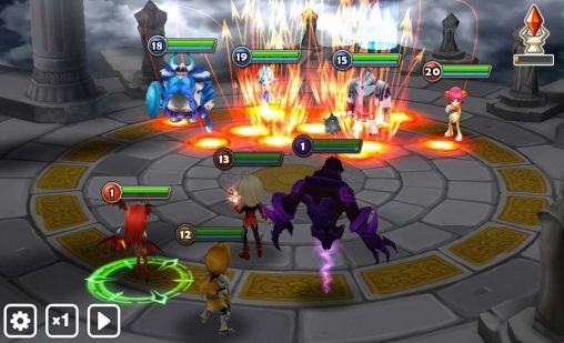 summoners war combates en la arena