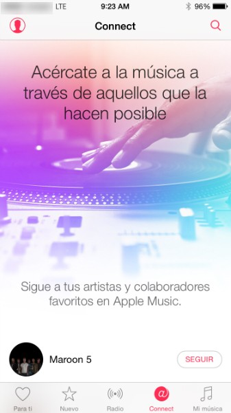 Connect the Apple Music