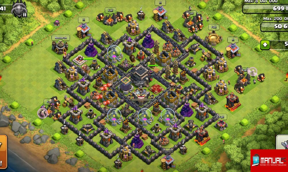 base farming th9